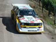 Audi Sport Quattro – KEMRacing in the Isle of Man