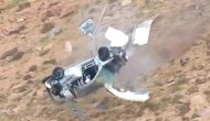 Jeremy Foley incredible crash at 2012 Pikes Peak
