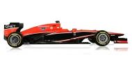 Marussia team F1 car buildtimelapse